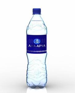 Bear Beer company is also famous for its mineral water Ala Archa. We can find it in 1.5 l unique PET bottles blow molded at APF-6004 machine.